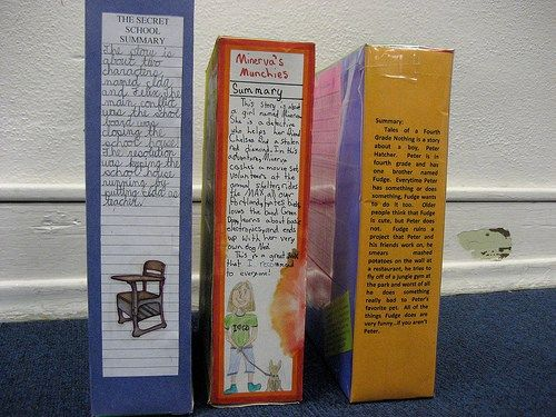 Cereal box project examples cereal books and school for Cereal box project for school