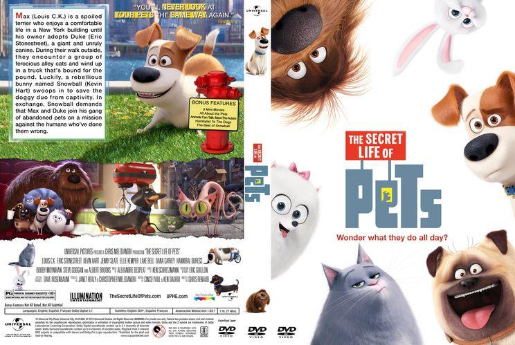 The Secret Life Of Pets Custom Dvd Cover Dvd Covers Printable Dvd Covers Custom Dvd