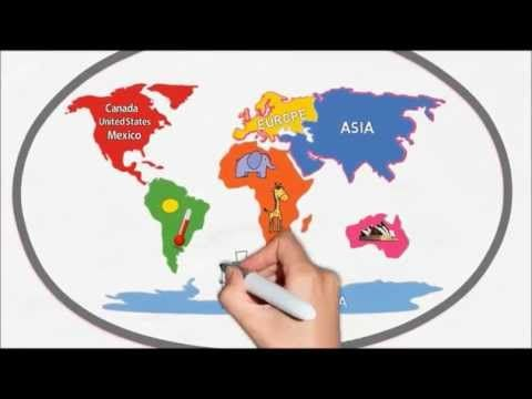 Geography By Silly School Songs The Seven Continents The - South america capital song