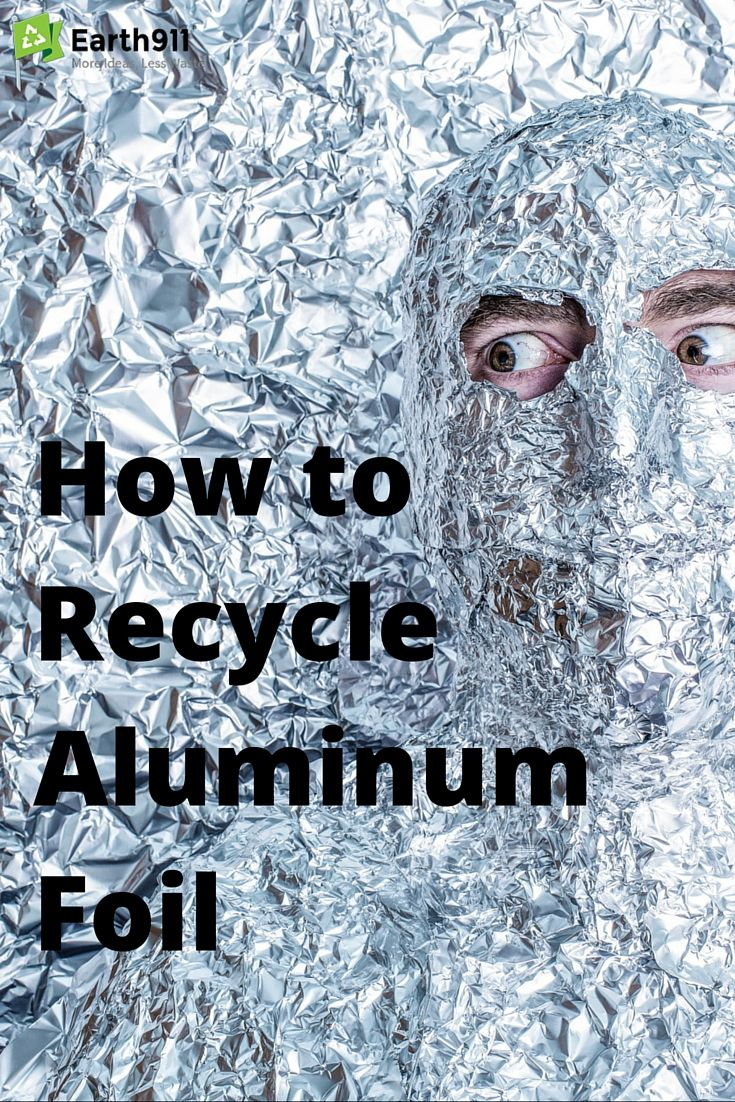 Did you know you can recycle aluminum foil? Click here to search for a recycling location in your area.