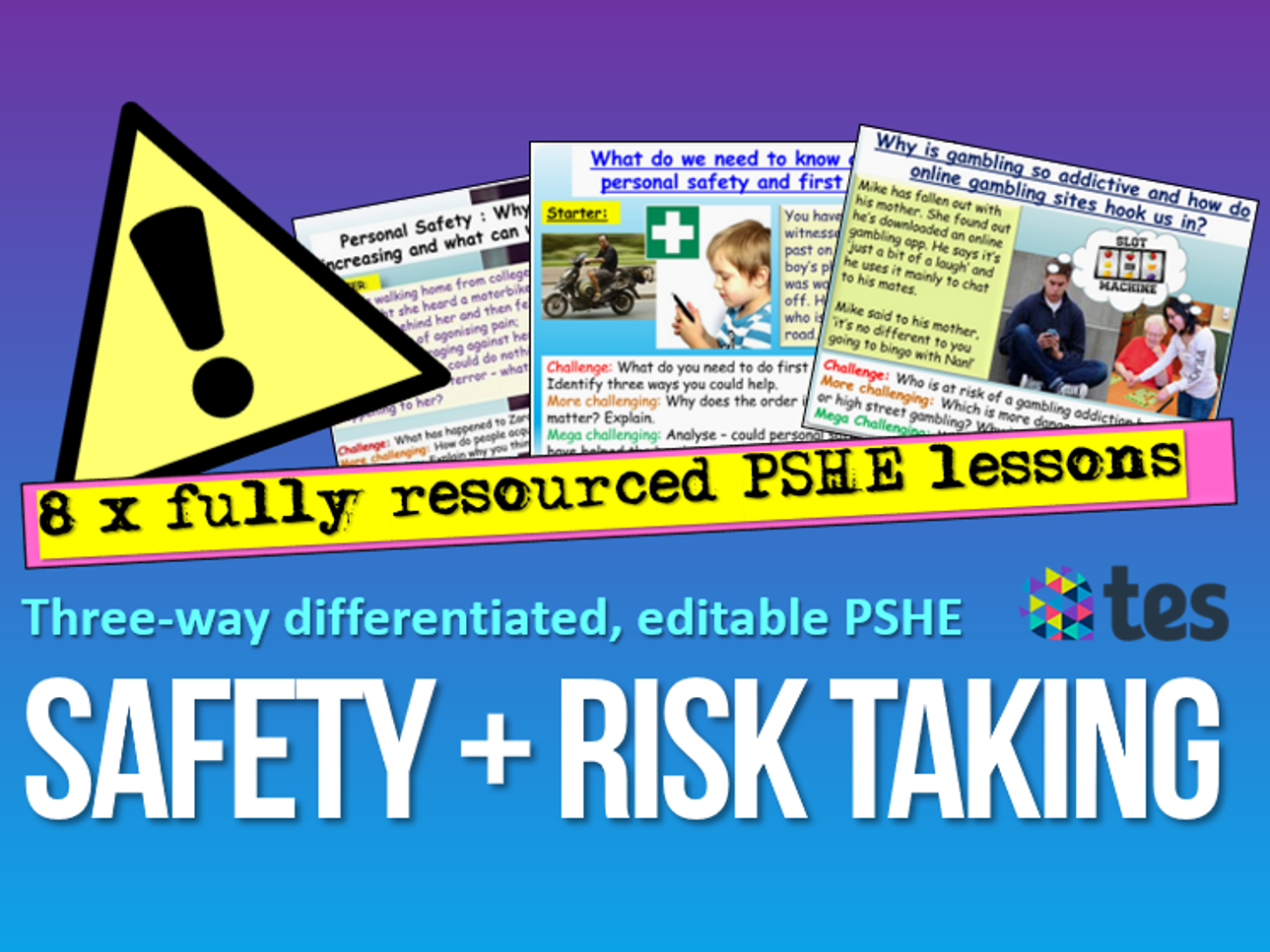 Personal Safety Risk Pshe