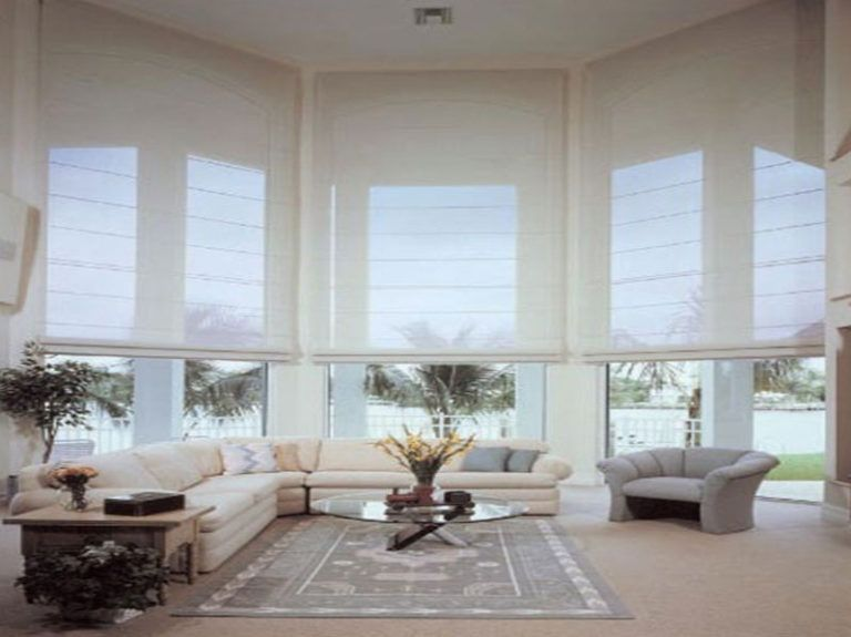The Distinctive Qualities Of Sheer Roman Shades Curtains Over