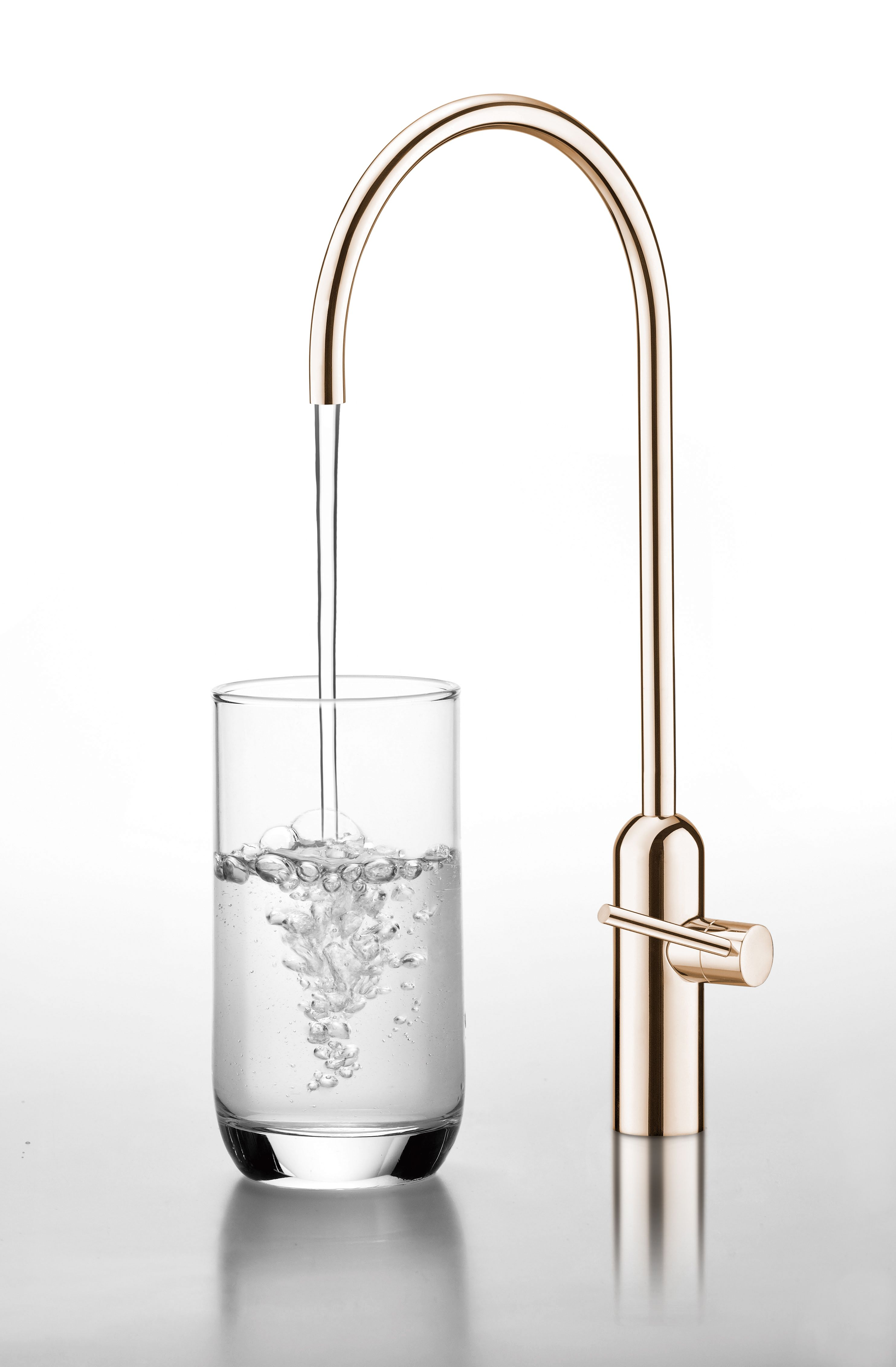 JUSTIME Capsule water drinking faucet. Made of antimicrobial copper ...
