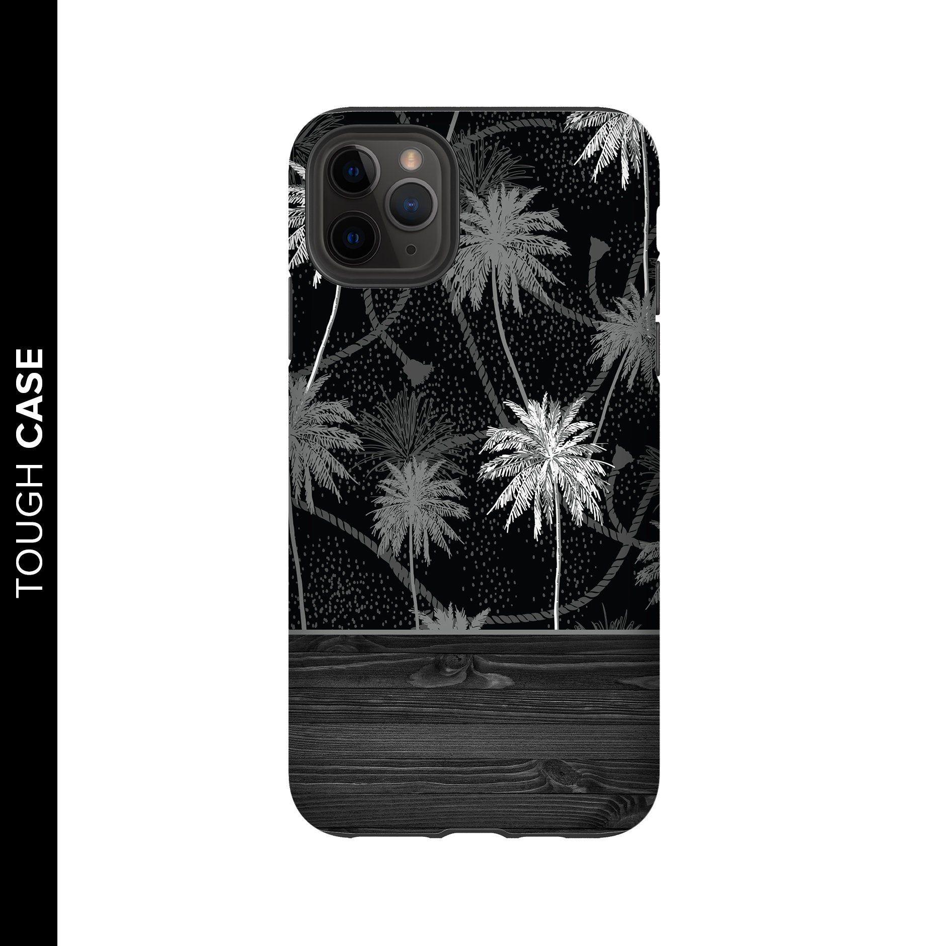 Monochrome Palm Trees Phone Case Palm Tree Phone Case