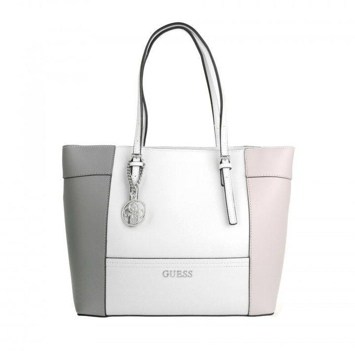 Guess Tasche Delaney Medium Classic Tote Cloud Multi in