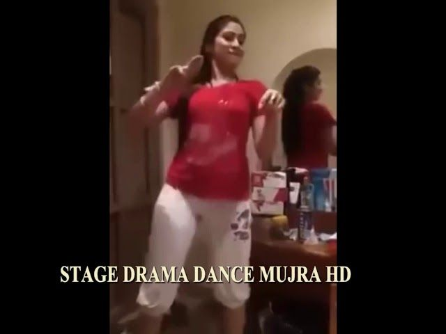 Nude mujra on stage