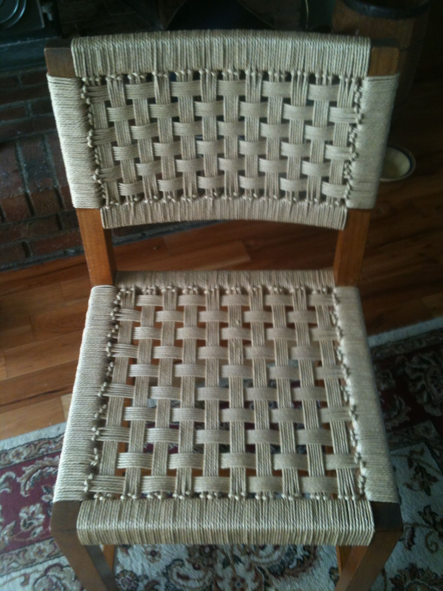 Specialty Danish Cord Seat Weaving Chair Caning By