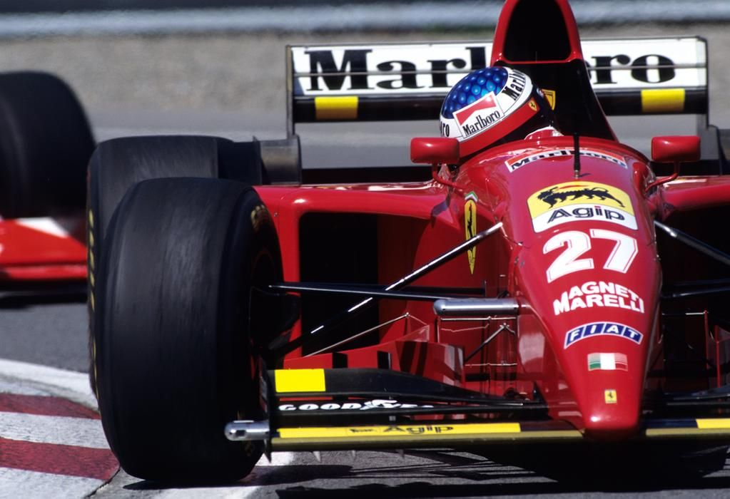 The only one and unique victory of Jean Alesi in F1 was in Canada-Montreal 1995/Ferrari 412T2 #AVerySuccsefulDriver