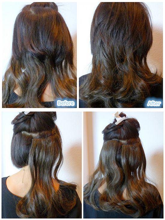 Headband And Hair Extensions For Short Hair Can Make Perfect Autumn