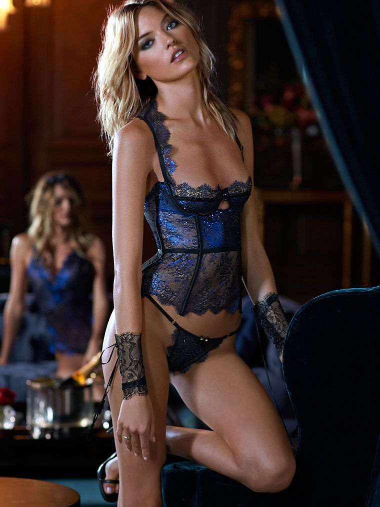 54ac022044 71 Lingerie Sales for the Week of 10 25 14 Credits  Chantilly Lace Flyaway  Slip   Cutout Lace Corset via Victoria s Secret
