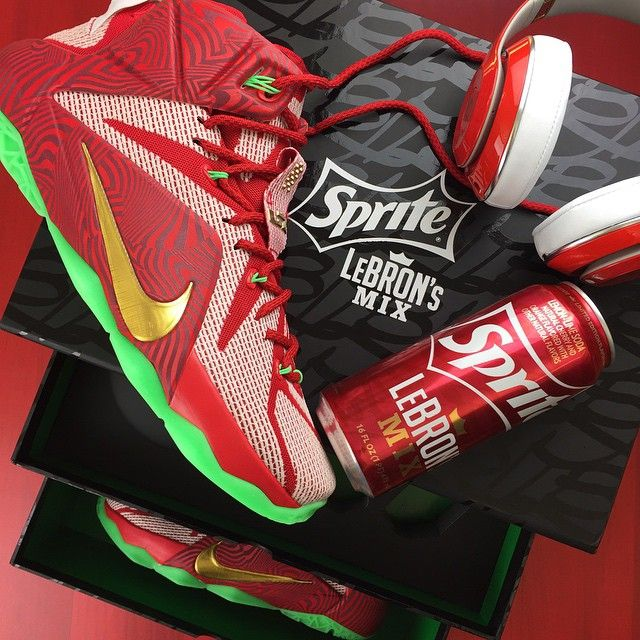 ad0f052ad1c92 The Sprite LeBron s Mix Box is limited to 100...and we got one of them. Check  out a detailed look at the package on SneakerNews.com