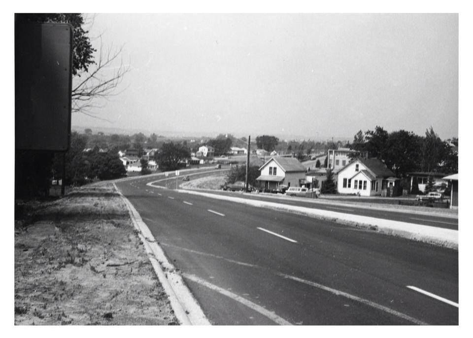 Dodge St Looking West From Fremont Circa 1960s Or 70s Dubuque Iowa Dubuque Iowa