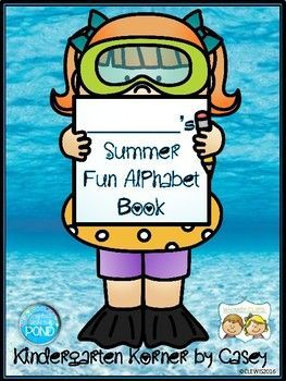 NO PREP Summer / End of Year Alphabet ABC Writing Book - Pre-k ...