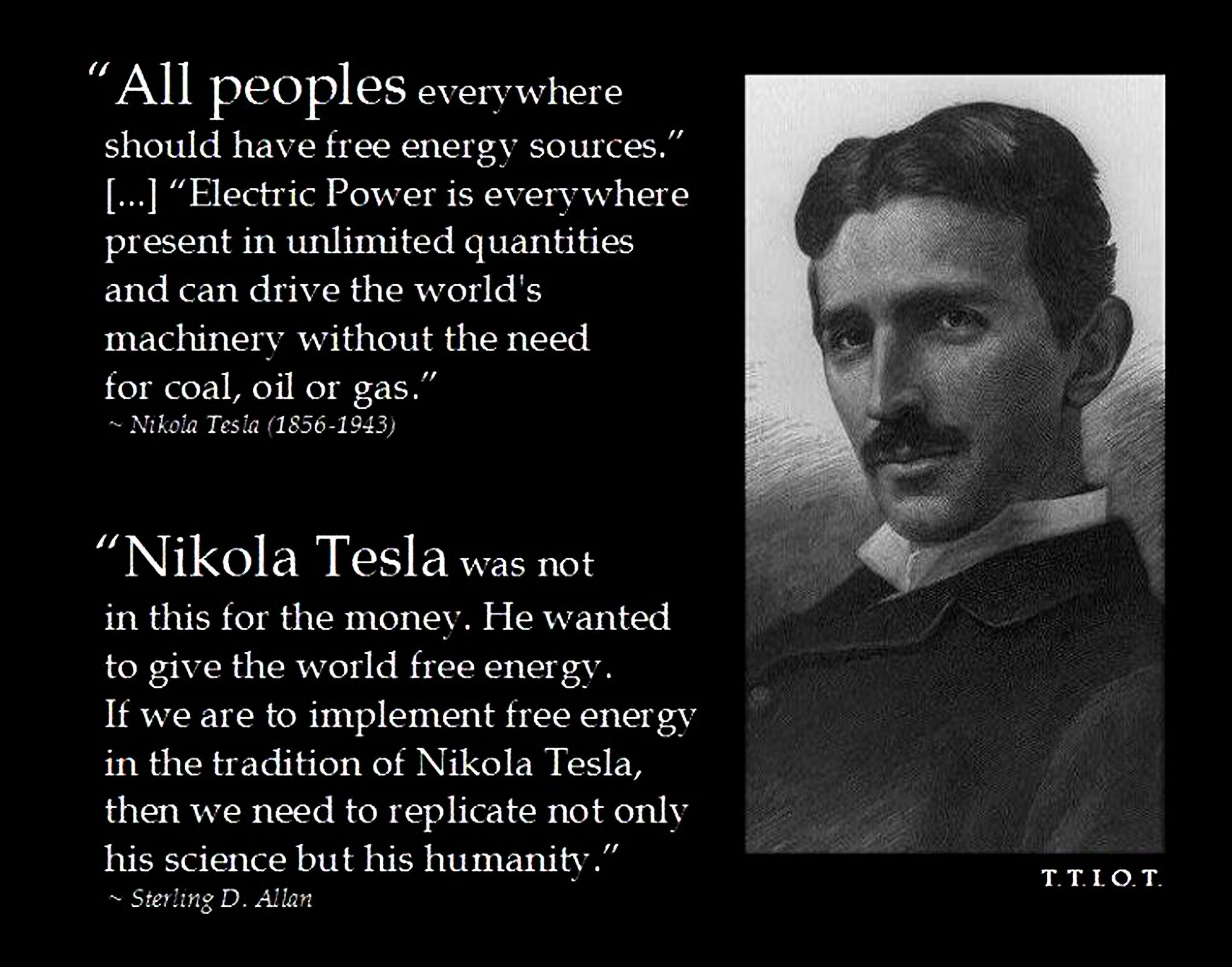 nikola tesla meme world would be like