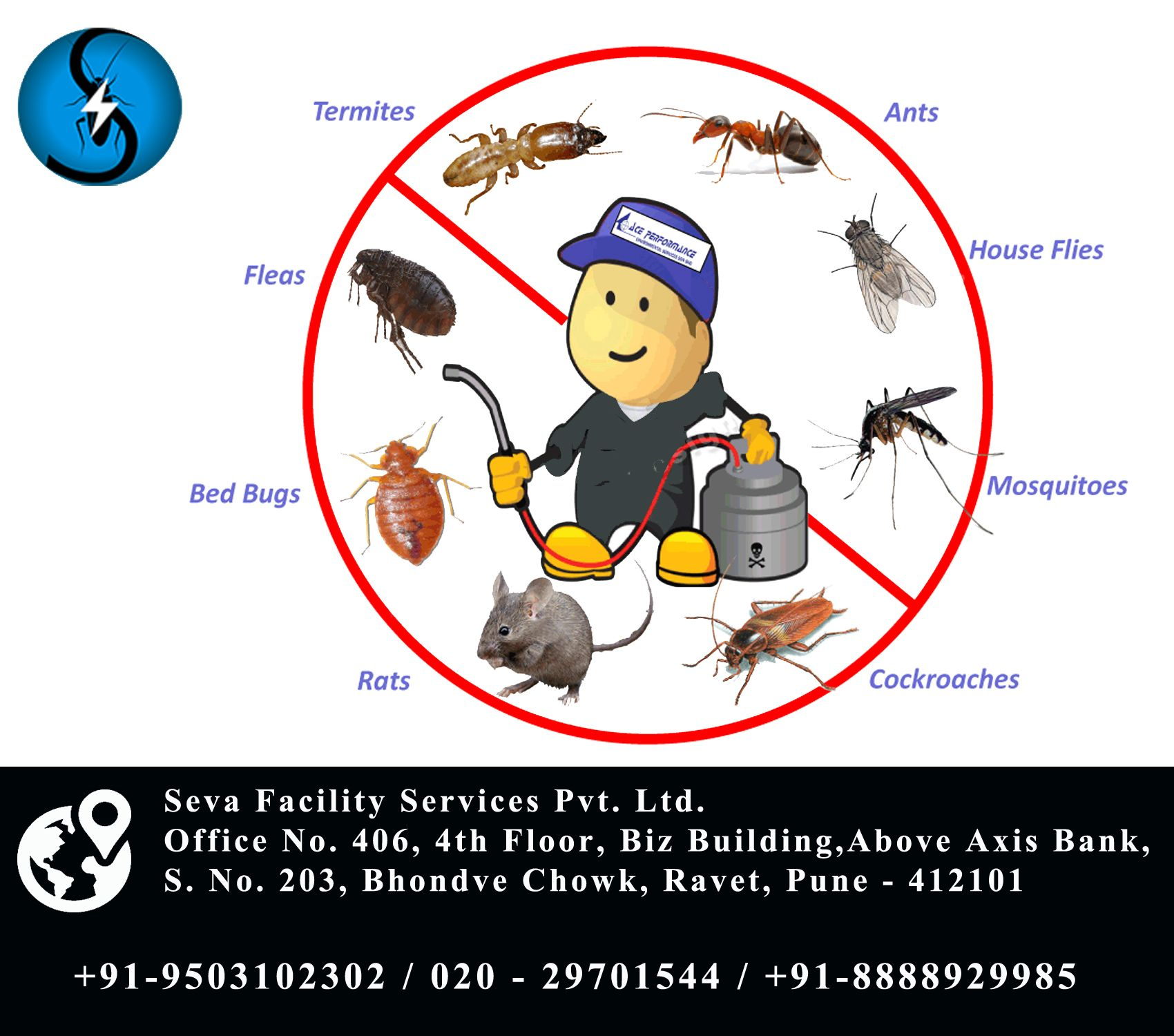 With Seva Facility Services protect your house from