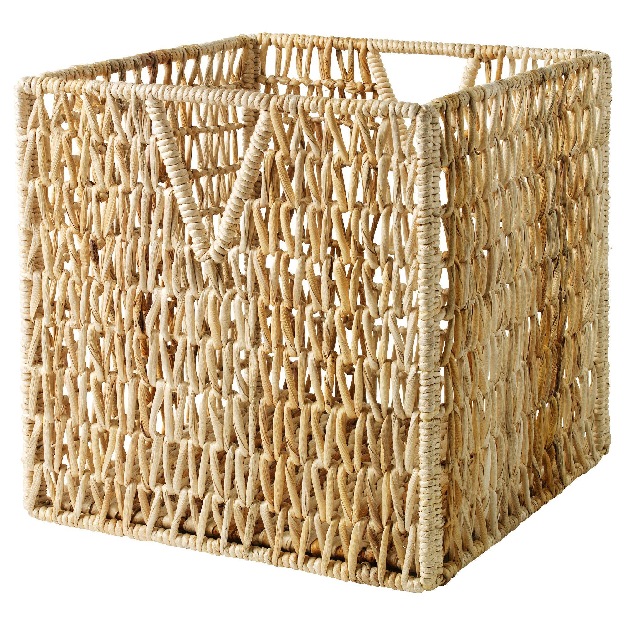 Wicker Washing Basket Ikea