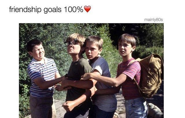 Stand By Me Friendship Goals Stand By Me Corey Feldman Stand By