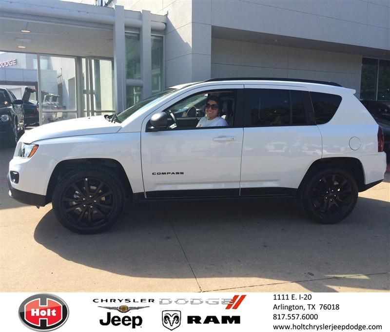 Congratulations To Jessica Martinez On Your Jeep Compass