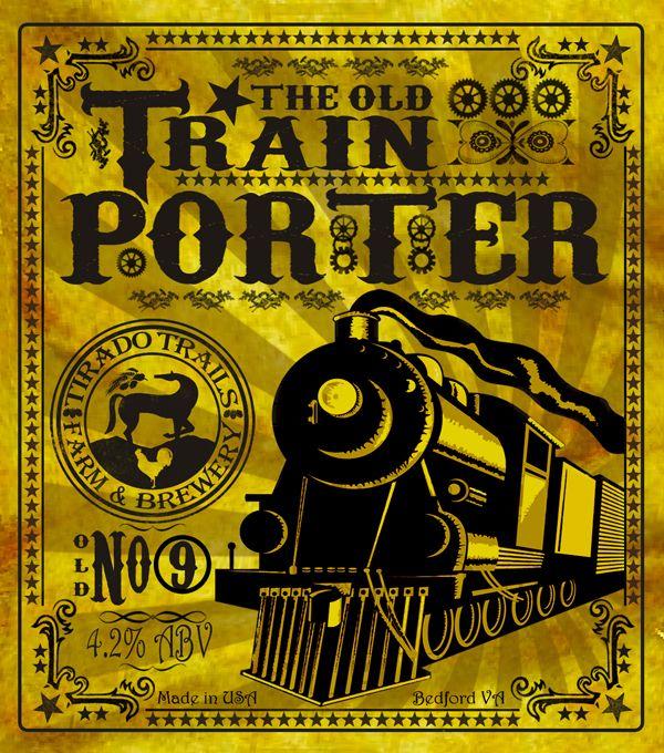 beer train label - Google Search Design Inspiration Pinterest - beer label