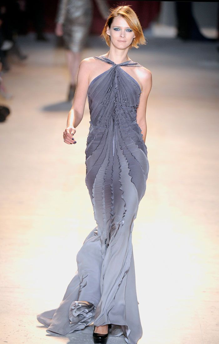 Image Detail For Zac Posen Fall 2011 Evening Dresses