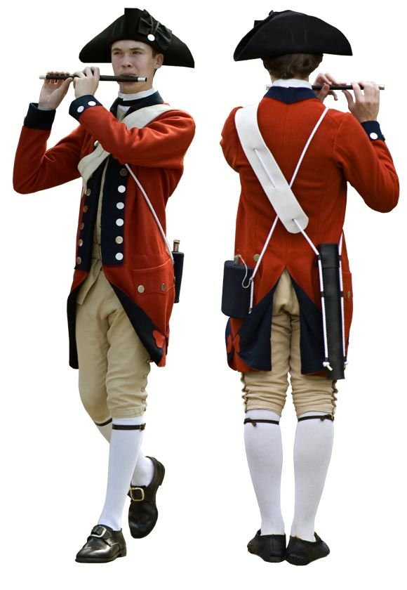 Anatomy of the Red Regimental Uniform | Colonial ...