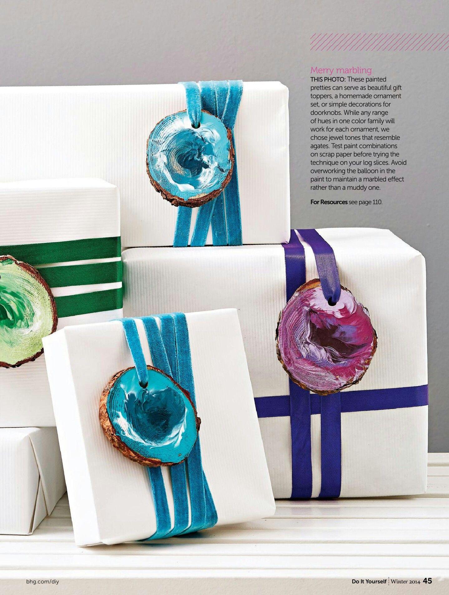 Diy marbled ornaments do it yourself magazine gift wrap boxes diy marbled ornaments do it yourself magazine solutioingenieria Gallery