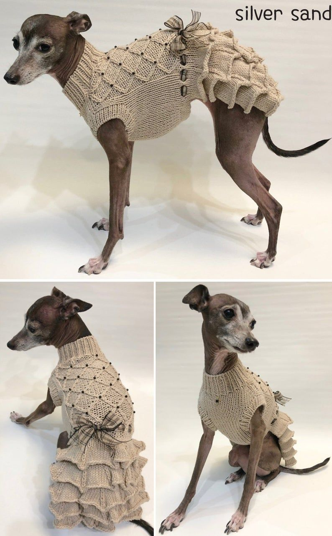 Pin on Связаная крючком одежда для собак