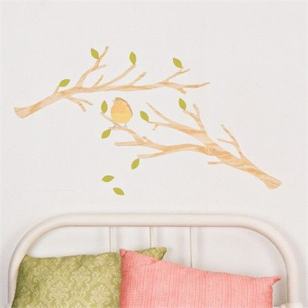 Branches Light Fabric Wall Decals Wall Decals Walls And - Nursery wall decalswall stickers for nurseries rosenberry rooms