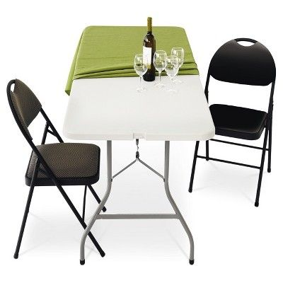 Swell 6 Folding Banquet Table Off White Plastic Dev Group Ncnpc Chair Design For Home Ncnpcorg