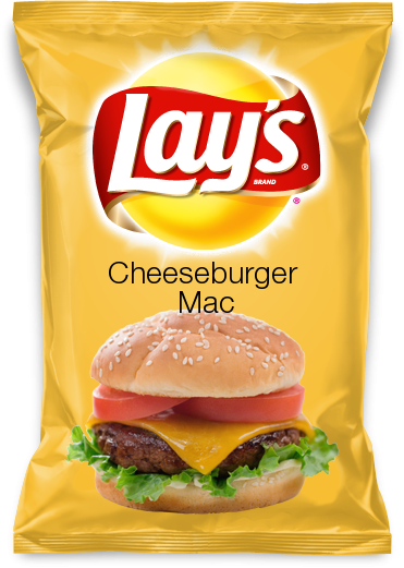 Cheeseburger Mac---my flavor in Lay's flavor contest