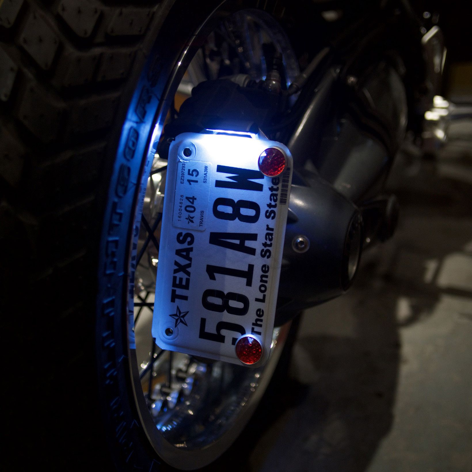 Revival Cycles Signature Bmw Motorcycle License Plate Bracket