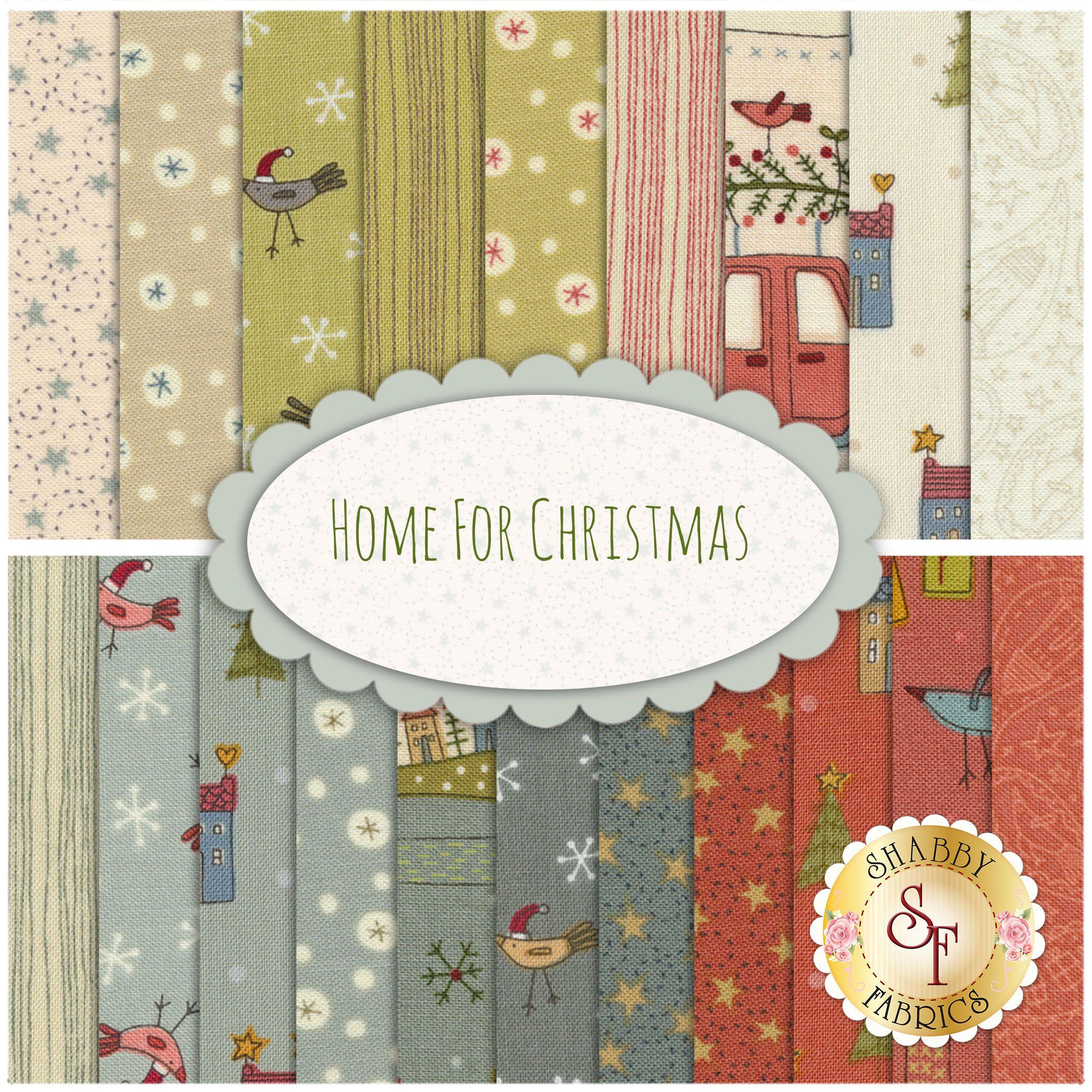 Home For Christmas 20 Fq Set By Henry Glass Fabrics Christmas