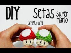 DIY Setas Super Mario amigurumi crochet.ganchillo (tutorial)