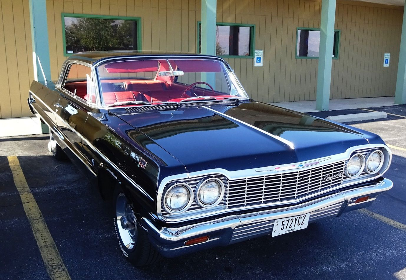 1964 Chevrolet Bel Air 2 Door Post Conversion Impala Daily Driver 62 63 Biscayne For Sale Photos Technical Specifications D Impala Chevrolet Bel Air Bel Air