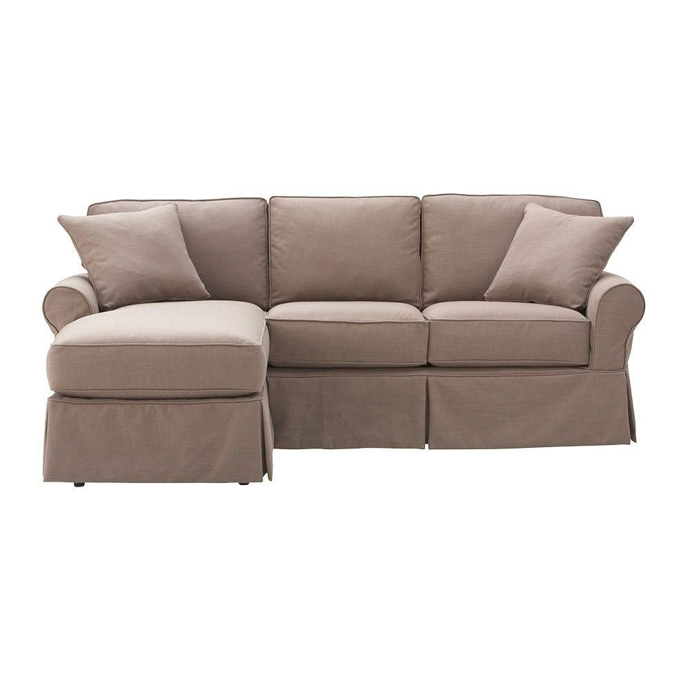 Home Decorators Collection Mayfair 2 Piece Linen Kayak Sectional
