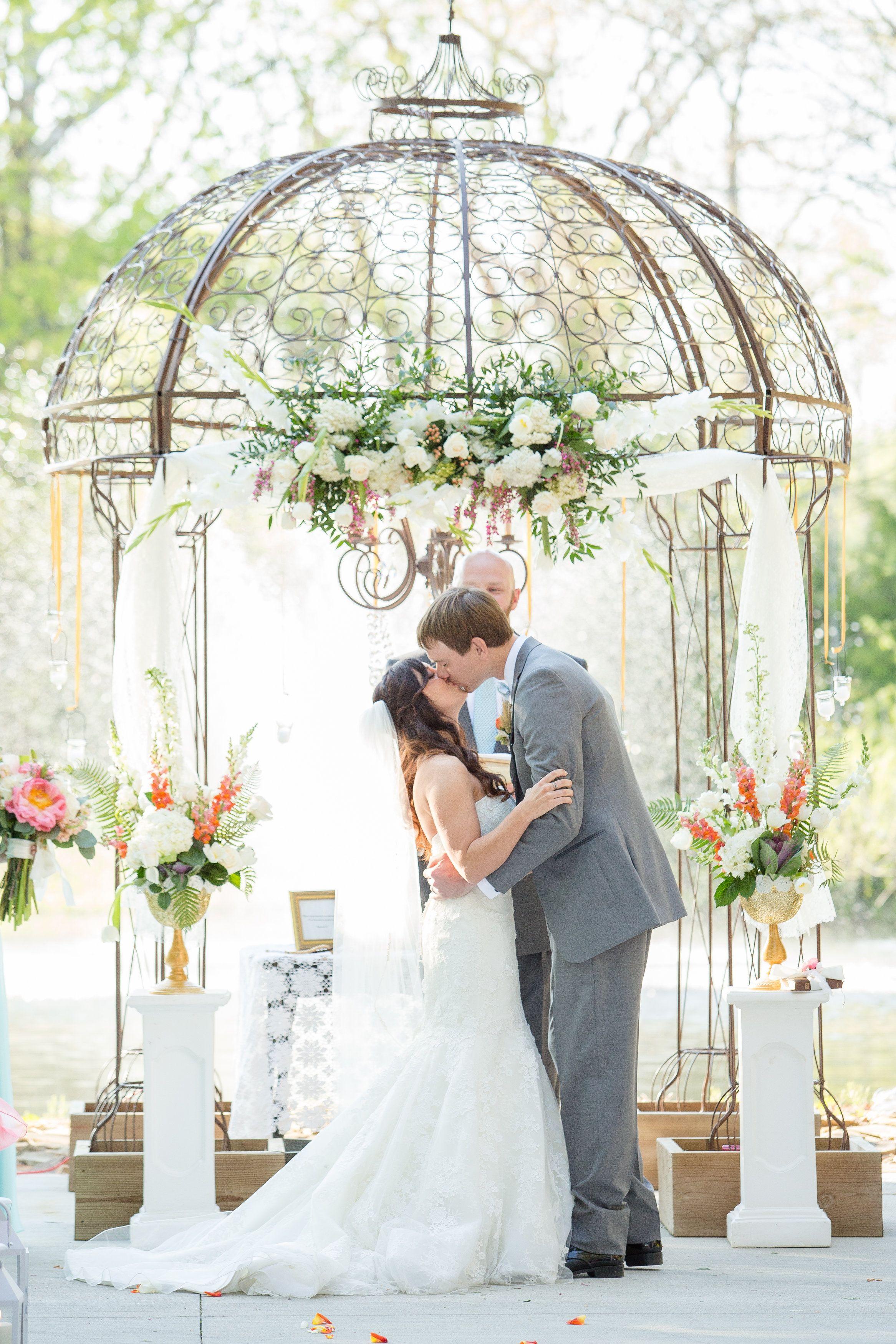 Wedding dress huntsville al  Gold wedding Huntsville Alabama outdoor ceremony barn reception