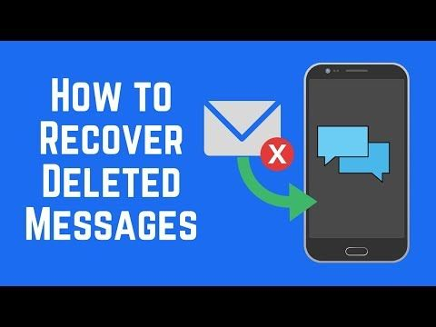 How To Recover Deleted Text Messages On Android Youtube Text Messages Smartphone Hacks