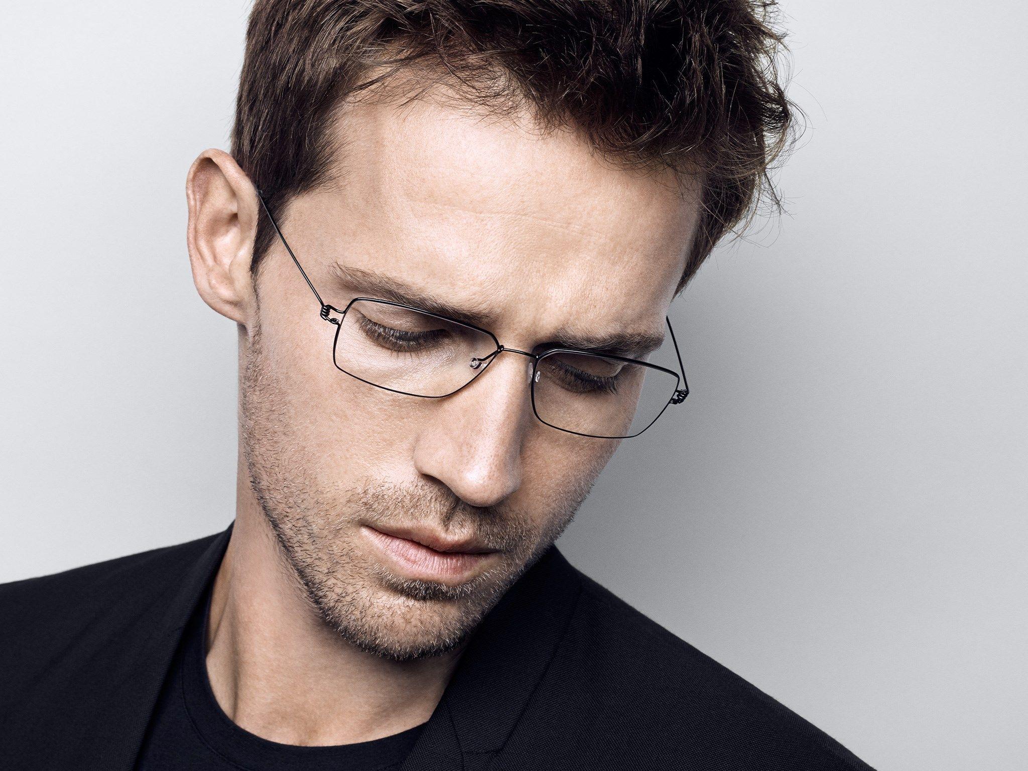 449a451d08 ... eyewear brand glasses frames male myopia ultralight personalized glasses  Business. LINDBERG air titanium rim – Men