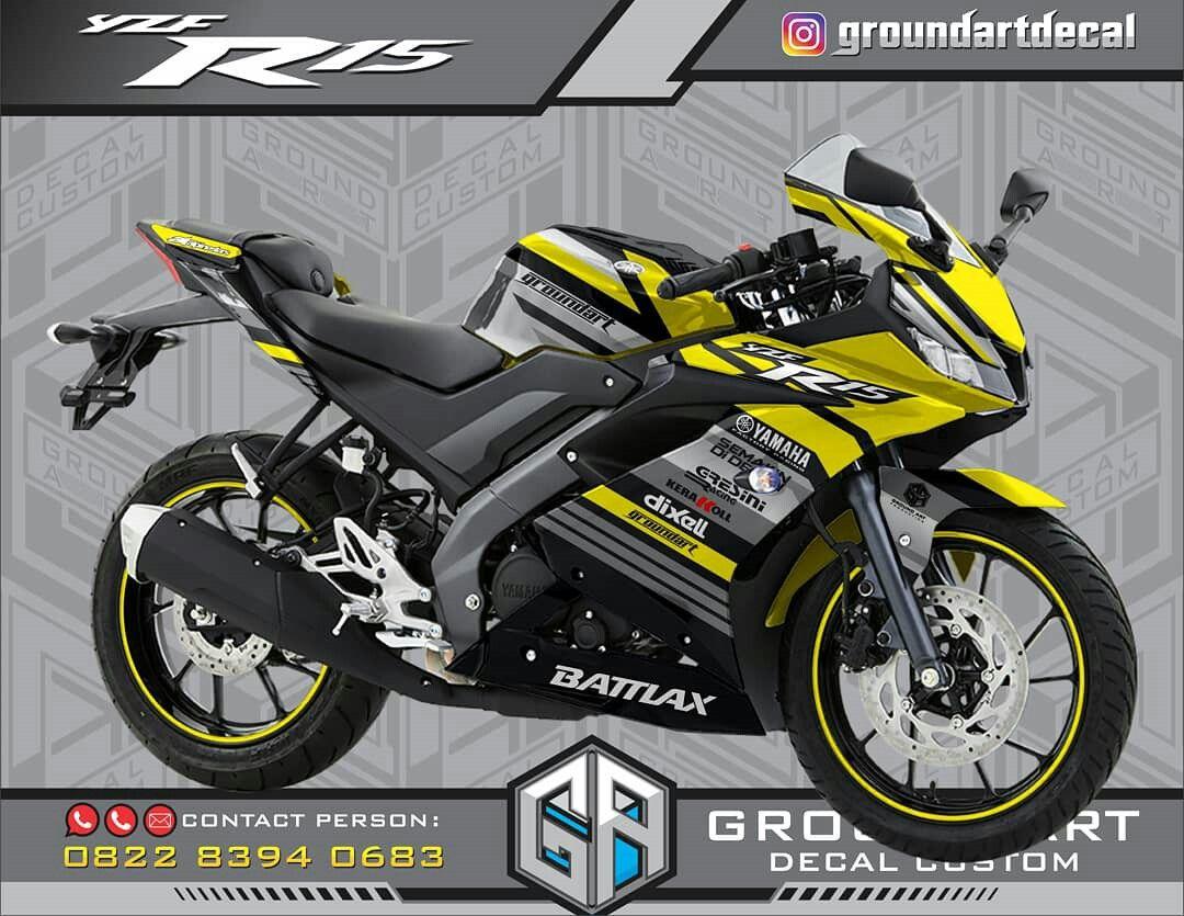 Decal Yamaha R15 Facelift