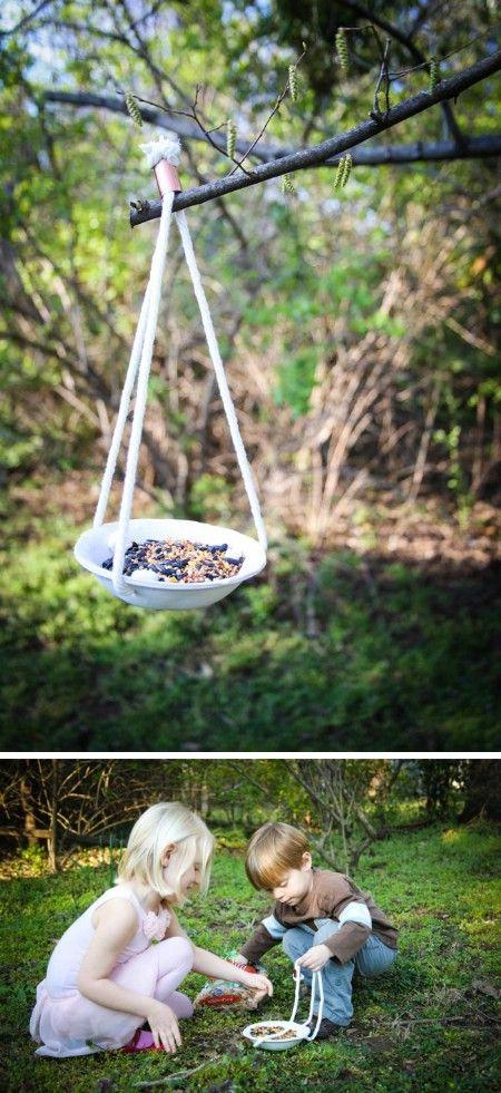 Alimentador de arcilla - 23 Birdfeeders bricolaje que llenará su jardín con los…