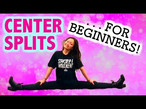 how to get middle splits in one day  youtube