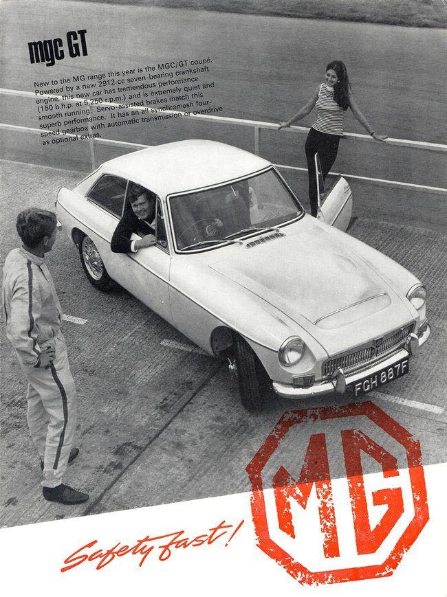 MGC GT - 1967 | MG\'S | Pinterest | alte Autos, Lkw und Autos