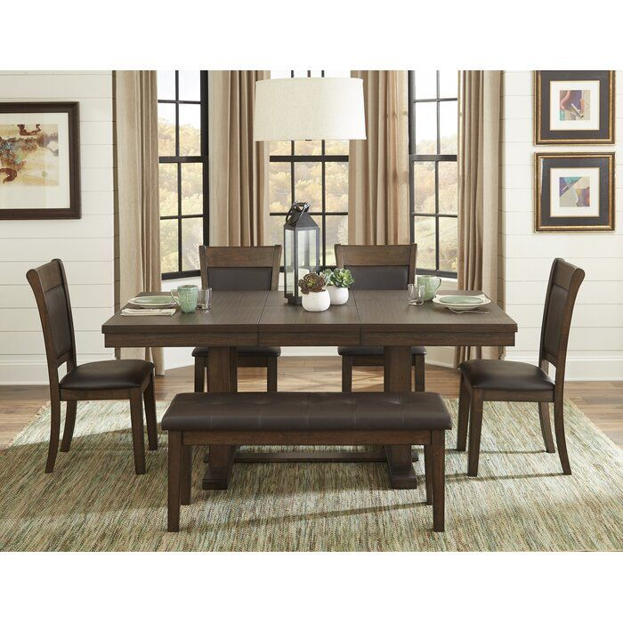 Saulsberry 6 Piece Dining Set Dining Room In 2019 Dining Table