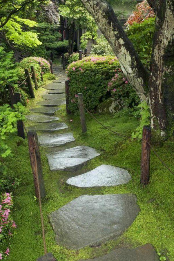 Allées de jardin créatives pour votre extérieur | Jardin massif ...