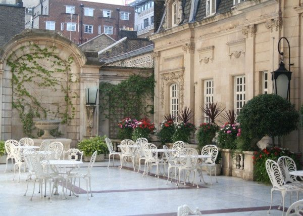 Dartmouth House Outdoor Space For Cocktail Reception In Mayfair Greater London