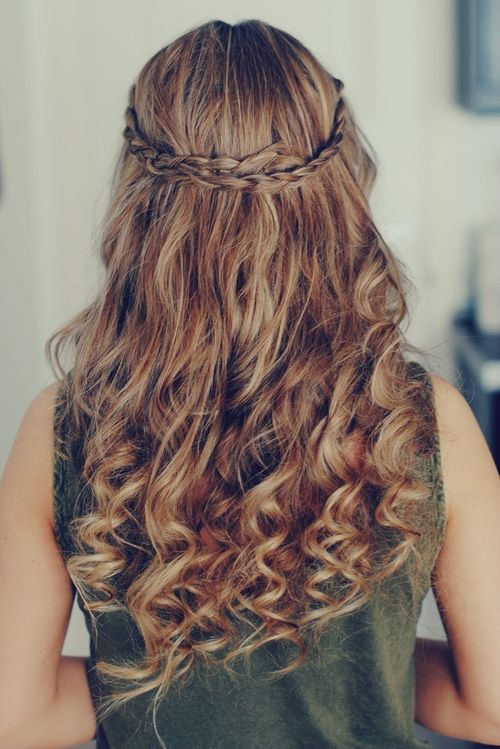 If Email Is Among The Principal Means For One To Connect With - Hairstyle with curls and braids