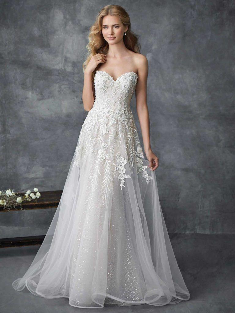 Mod wedding dress  Timelessly Elegant  Spring Kenneth Winston Wedding Dresses