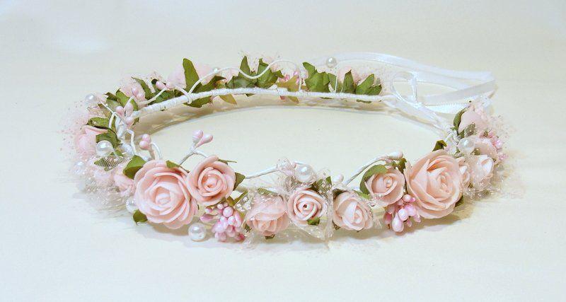 Wianek Slubny Wianek Komunijny Sesja Slub Komunia 6443423559 Oficjalne Archiwum Allegro Crown Jewelry Crown Jewelry