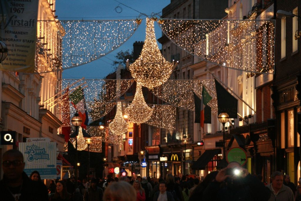 Grafton St Xmas Street Christmas Lights Dublin