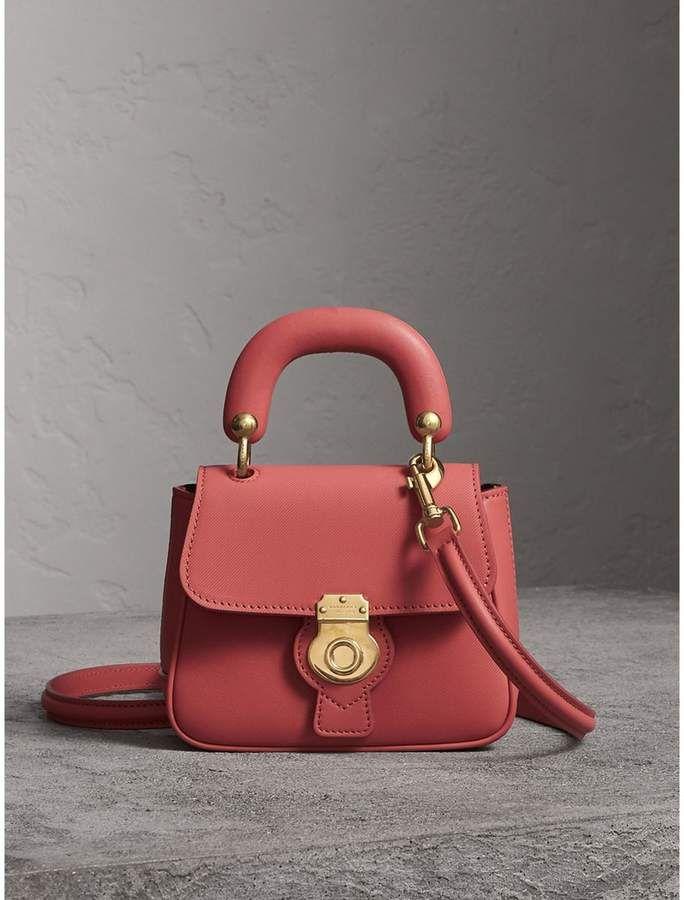 c0089829f0fb Burberry The Mini DK88 Top Handle Bag